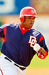 14 March 2006: Daryle Ward, infielder for the Washington Nationals, runs to third base during a Spring Training game against the Florida Marlins. The Marlins defeated the Nationals 2-1 at Space Coast Stadium, in Viera, Florida...Mandatory Photo Credit: Ed Wolfstein..