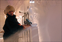 Heather Brice, 4-time World Ice Sculpting Champion