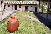 La Escuelona interpretation center in the Lenca Indian village of La Campa, Lempira, Honduras..