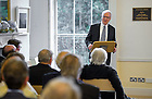 Aug. 29, 2012; T.H. Breen gives the keynote address at O'Connell House in Dublin to open the Notre Dame 1916 Dublin Conference...Photo by Matt Cashore/University of Notre Dame