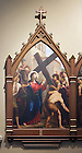 Stations of the Cross in the Basilica of the Sacred Heart.  Station 2...Photo by Matt Cashore..