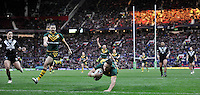 Picture by Simon Wilkinson/SWpix.com - 30/11/2013 - Rugby League - 2013 Rugby League World Cup Final - New Zealand v Australia - Old Trafford, Manchester, England - copyright picture - Simon Wilkinson - simon@swpix.com<br />