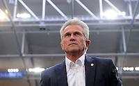 FUSSBALL   1. BUNDESLIGA  SAISON 2012/2013   4. Spieltag FC Schalke 04 - FC Bayern Muenchen      22.09.2012 Trainer Jupp Heynckes (FC Bayern Muenchen)