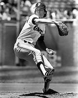 San Francisco Giants pitcher Atlee Hammaker<br /> (1984 photo By Ron Riesterer/photoshelter)