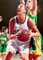 STANFORD, CA - JANUARY 15: Cori Enghusen of the Stanford Cardinal during Stanford's 78-62 win over the Oregon Ducks on January 15, 2000 at Maples Pavilion in Stanford, California.