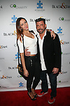 Anna Perelshteyn and Brian Kaminsk ATTEND NFL LEGENDS JOE MONTANA & DWIGHT CLARK HONORED AT THE CATCH SUPER BOWL  VIEWING PARTY HELD AT THE EDISON BALL ROOM, NY