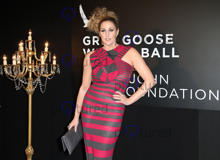 Bronagh Waugh Grey Goose Winter Ball to benefit the Elton John AIDS Foundation, Battersea Evolution, London, UK, 29 October 2011:  Contact: Rich@Piqtured.com +44(0)7941 079620 (Picture by Richard Goldschmidt)