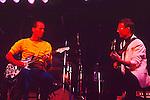 Adrian Belew & Robert Fripp of King Crimson 1984.
