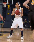 The University of Michigan women's basketball team beat Valparaiso, 73-32, at Crisler Center in Ann Arbor, Mich., on December 20, 2012.