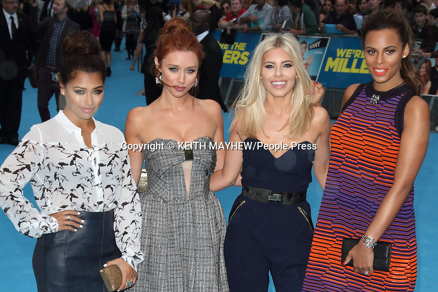 'We're The Millers' UK Premiere at the Odeon West End, Leicester Square, London - August 14th 2013<br /> <br /> Photo by Keith Mayhew