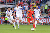 The Euro 2016 Group B European Championship Qualifier match between Wales and Israel at Cardiff City Stadium on Sunday 6th September 2015