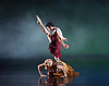 Terra Incognita<br /> by Shobana Jeyasingh <br /> Music by Gabriel Prokofiev<br /> Designed by Jean-Marc Puissant <br /> Lighting by Lucy Carter <br /> Rambert Dance at Sadler's Wells, London, Great Britain <br /> 18th November 2014 <br /> rehearsal <br /> <br /> <br /> <br /> Dane Hurst <br /> <br /> <br /> <br /> Simone Damburg Wurtz<br /> <br /> <br /> <br /> Photograph by Elliott Franks <br /> Image licensed to Elliott Franks Photography Services