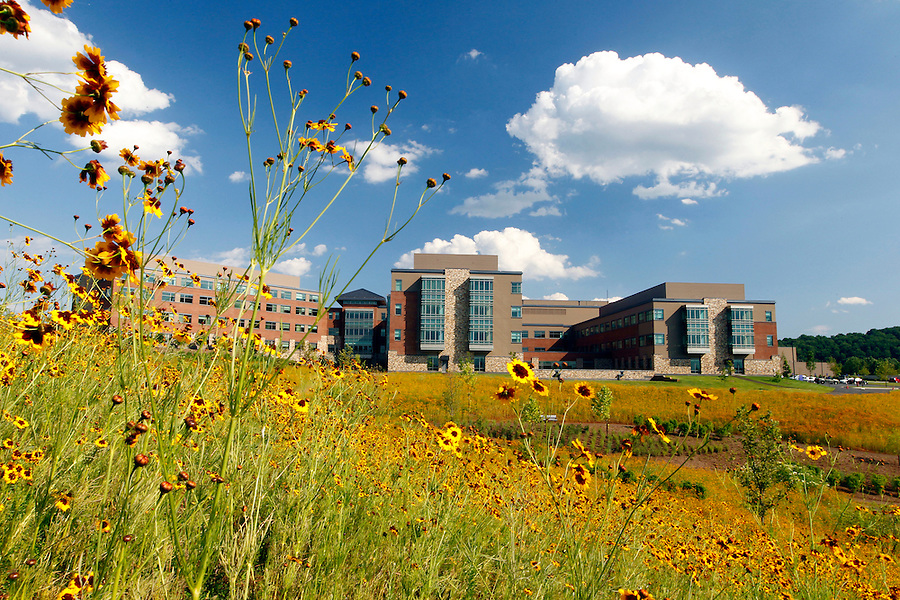 The new Martha Jefferson Hospital. Photo/Andrew Shurtleff