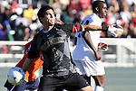 10 November 2010: Wake Forest's Akira Fitzgerald. The University of Virginia Cavaliers defeated the Wake Forest University Demon Deacons 1-0 at Koka Booth Stadium at WakeMed Soccer Park in Cary, North Carolina in an ACC Men's Soccer Tournament Quarterfinal game.
