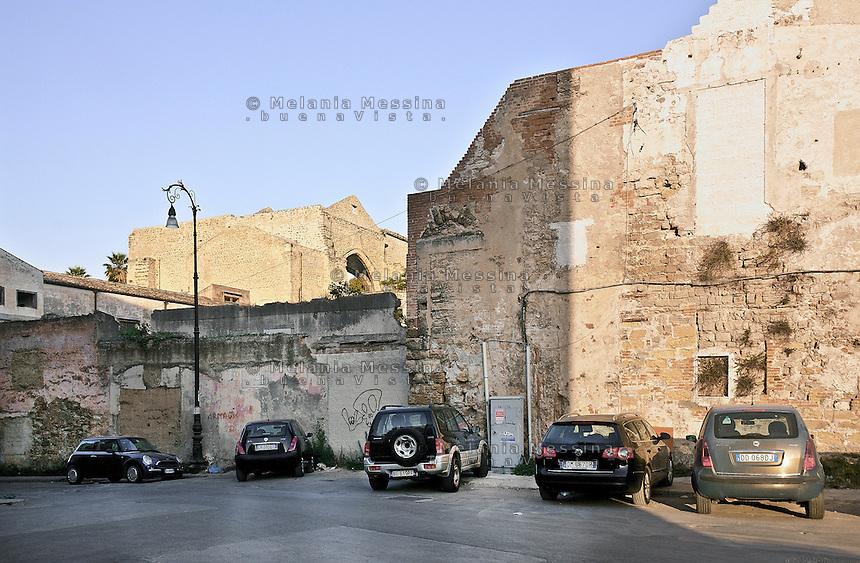 Palermo:piazza dello Spasimo, quartiere Kalsa.<br /> Palermo: Spasimo square; Kalsa district