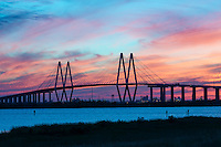 Another capture of the Fred Hartman Bridge outside of Houston which runs across the ship channel between Baytown and La Porte Texas. This is a very long bridge which runs about 2.6 miles. On this day we had been in the area and decided to go see if we could capture it and boy did we get an incredible sunset. This bridge replaced the Baytown tunnel which went under the water because they need it to be deeper, As a child we would drive through the tunnel and I was alway scare it would collapse on us. Watermark will not appear on image