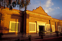 The Casa de la Cultura or Centro Cultural de Profesor Nestor Agundez Martinez in the Spanish colonial town of Todos Santos , Baja California Sur, Mexico