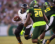 Tampa, FL - September 4th, 2016: Towson Tigers running back Darius Victor (7) in action during game against USF at Raymond James Stadium in Tampa, FL.  (Photo by Phil Peters/Media Images International)