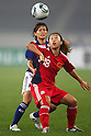 (L to R) Nahomi Kawasumi (JPN), Qu Shanshan (CHN), September 11, 2011 - Football / Soccer : Women's Asian Football Qualifiers Final Round for London Olympic Match between Japan 1-0 China at Jinan Olympic Sports Center Stadium, Jinan, China. (Photo by Daiju Kitamura/AFLO SPORT) [1045]