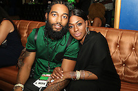 NEW YORK, NY - AUGUST 16, 2016 Karl Dargan & LiL Mo attend the Radio One: The Blitz Music Showcase at Stage 48 August 16, 2016 in New York City. Photo Credit: Walik Goshorn / Mediapunch