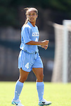 28 August 2011: North Carolina's Bianca Gray. The University of North Carolina Tar Heels defeated the University of Houston Cougars 6-1 at Fetzer Field in Chapel Hill, North Carolina in an NCAA Women's Soccer game.