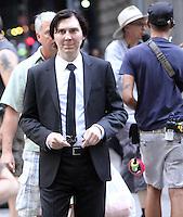 NEW YORK, NY-July 24: Paul Dano  shooting b-roll on location for Netflix & Plan B Enterainment  film Okja in New York. NY July 24, 2016. Credit:RW/MediaPunch