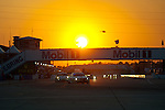 Sunset at Sebring #56 BMW Motorsport BMW M3 GT: Andy Priaulx, Dirk Mueller, Joey Hand