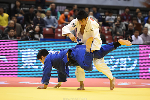 Takanori Nagase (JPN), <br /> DECEMBER 5, 2015 - Judo : <br /> IJF Grand Slam Tokyo 2015 International Judo Tournament <br /> Men's -81kg<br /> at Tokyo Metropolitan Gymnasium, Tokyo, Japan. <br /> (Photo by AFLO SPORT)