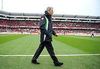 FUSSBALL   1. BUNDESLIGA  SAISON 2011/2012   24. Spieltag 1. FC Nuernberg - Borussia Moenchengladbach      04.03.2012 Trainer Lucien Favre (Borussia Moenchengladbach)
