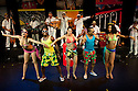 "06.06.12. London, UK. ""Havana Rumba!"", the Cuban Salsa, Rumba, Rum and Reggaeton show returns to the UK. Being performed in the upside down cow venue, The Udderbelly, on the Southbank, the show runs from Wednesday 20th May to Sunday 8th July 2012. Picture shows: Marilyn Acosta Lop, Osvady Despaigne Gainza, Wendy Alvarez, Papito Chango and Yuyu Vega Ruiz."