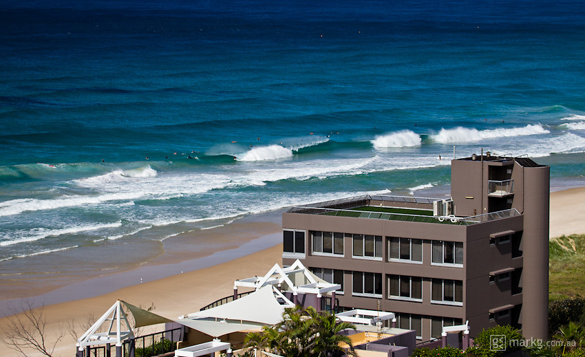Woke up to a rainy morning which cleared mid-morning to a perfect day with prefect offshore beach breaks - Beach & surf lifestyle photos - Gold Coast, Australia