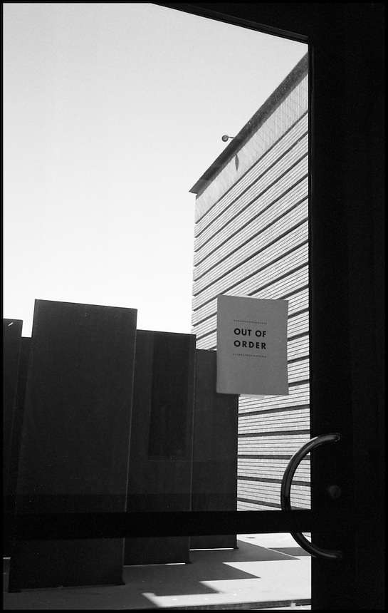 Out of order<br /> From &quot;Walking Downtown&quot; series. San Francisco, CA, 2007