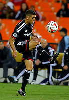 WASHINGTON, D.C - April 26 2014: D.C. United vs F.C. Dallas in an MLS match at RFK Stadium, in Washington D.C. United won 4-1.