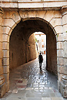 Medieval city wall gates of Kotor - Montenegro