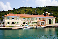 Virgin Islands National Park visitor center in Cruz Bay, St. John, USVI