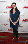 Rachel Chavkin attends The Actors Fund Annual Gala at the Marriott Marquis on 5/8//2017 in New York City.