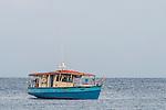 Seychellois Commercial Fishing Vessel, D'Arros Island and St Joseph Atoll, Amirantees, Seychelles,