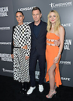BEVERLY HILLS, CA. October 13, 2016: Jennifer Connelly &amp; Ewan McGregor &amp; Dakota Fanning at the Los Angeles premiere of &quot;American Pastoral&quot; at The Academy's Samuel Goldwyn Theatre.<br /> Picture: Paul Smith/Featureflash/SilverHub 0208 004 5359/ 07711 972644 Editors@silverhubmedia.com