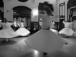 Whirling dervishes. Istanbul, Turkey.