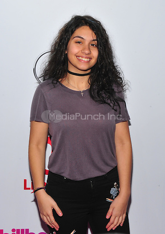 NEW YORK, NY - DECEMBER 9 : Alessia Cara at the 11th Annual Billboard's Women In Music Luncheon at Madison Square Garden in New York City on December 9, 2016. Credit: John Palmer/MediaPunch