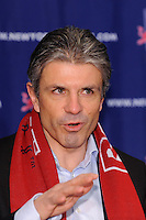 New York Red Bulls general manager and sportsing director Erik Soler during a press cenference at Red Bull Arena in Harrison, NJ, on January 13, 2010.