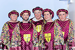 James Cash,an, Chris Brenna, Stephen Scales, Sean Joy and Adrian O'Connor in the Robin Hood panto in Killorglin CYMS on Sunday
