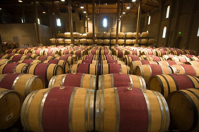 Redwood Cellar of Charles Krug winery