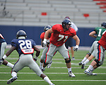 Ole Miss football practice a Vaught-Hemingway Stadium in Oxford, Miss. on Saturday, August 18, 2012.
