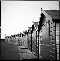 Beach Huts II, Dawlish Warren, Devon, 2010