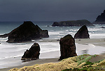 Seastacks and Waves, Oregon