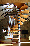 open stair case