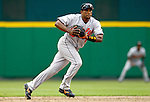 21 May 2006: Miguel Tejada, shortstop for the Baltimore Orioles, watches a grounder during a game against the Washington Nationals at RFK Stadium in Washington, DC. The Nationals defeated the Orioles 3-1 to take 2 of 3 games in their first inter-league series...Mandatory Photo Credit: Ed Wolfstein Photo..