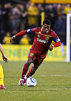 24 APRIL 2010:  Real Salt Lakes' Robbie Findley (10) during the Real Salt Lake at Columbus Crew MLS soccer game in Columbus, Ohio. Columbus Crew defeated RSL 1-0 on April 24, 2010.
