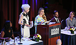 Audra McDonald, Jano Herbosch, Bonnie Comley,  Will Swenson and Laurie Metcalf on stage at the 83rd Annual Drama League Awards Ceremony  at Marriott Marquis Times Square on May 19, 2017 in New York City.